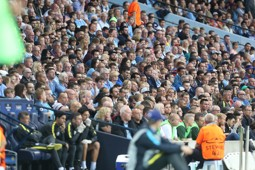 CITY v STEAUA: Can you spot yourself in our fan gallery?