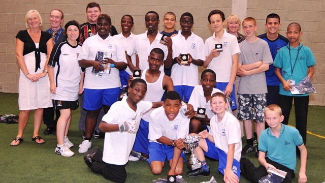 2009 One City disability tournament winners