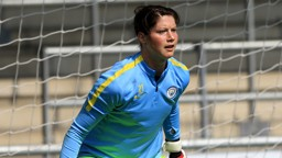 SHE'S A 'KEEPER: Marie Hourihan feels she made the right decision, joining City from 2015 champions Chelsea