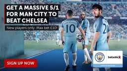 Betsafe Chelsea match promotion