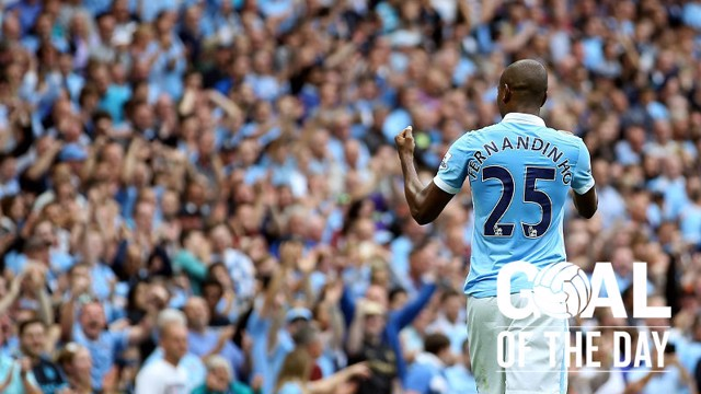 Fernandinho Goal of the Day