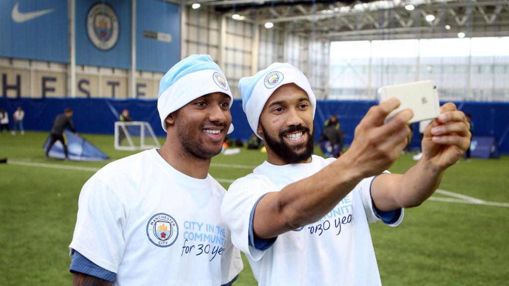 SNAP HAPPY: Send City in the Community your festive selfies to show your support for #BlueChristmas.