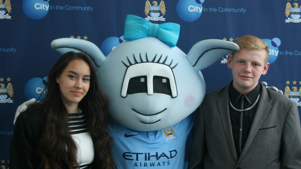 SUCCESS: City in the Community are celebrating their first set of BTEC graduates.