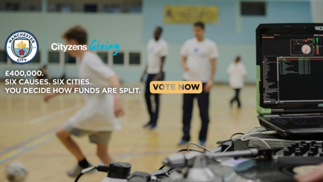 CITYZENS GIVING: Vote now for your favourite cause.