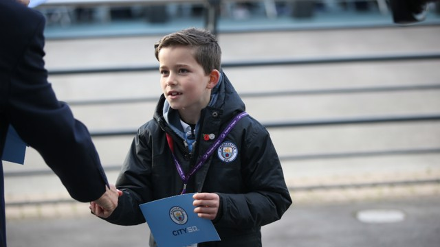 DREAM JOB: Sam joined our matchday events team as part of the Children's Commissioner's Takeover Challenge