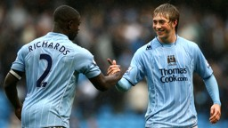 DUO: Two of City's biggest FA Youth Cup stars from years gone by.