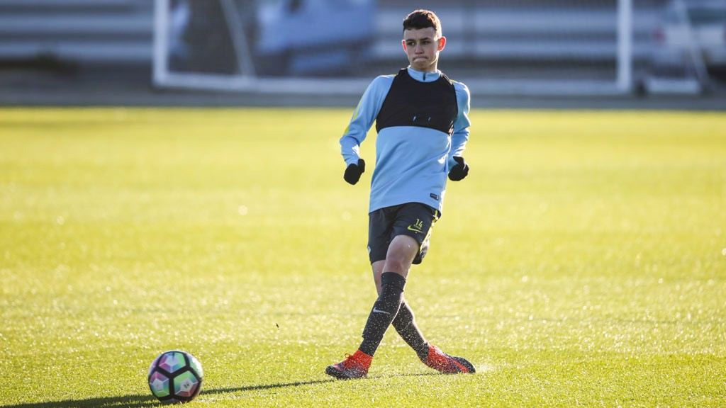 CREATIVE FORCE: Phil Foden's hoping to be a thorn in United's side