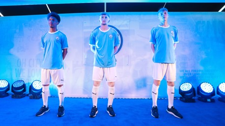 125 YEARS: Our anniversary kit was unveiled at a special fan event held at the City Football Academy