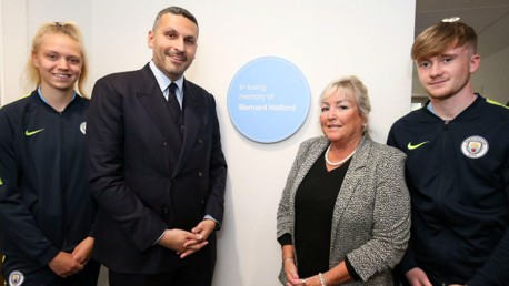 Bernard Halford Auditorium officially opened