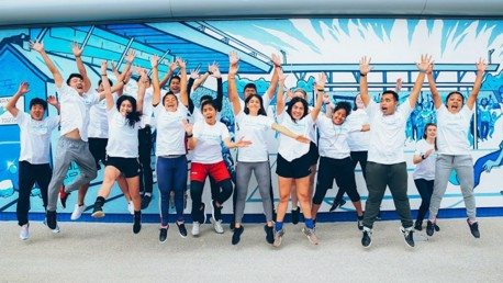 Young Leaders inspired by Cityzens Giving summit