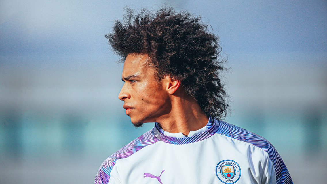 Picture special: Leroy Sane back in full training