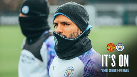 Training: City are semi conscious!