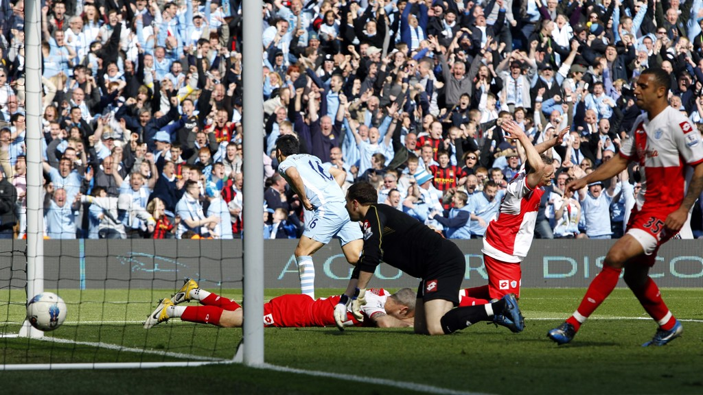 HISTORY MAKER: Aguero scores the Premier League-winning goal in 2012