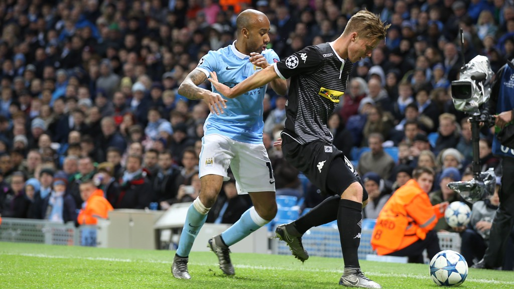 EURO ACTION: Delph in the Champions League
