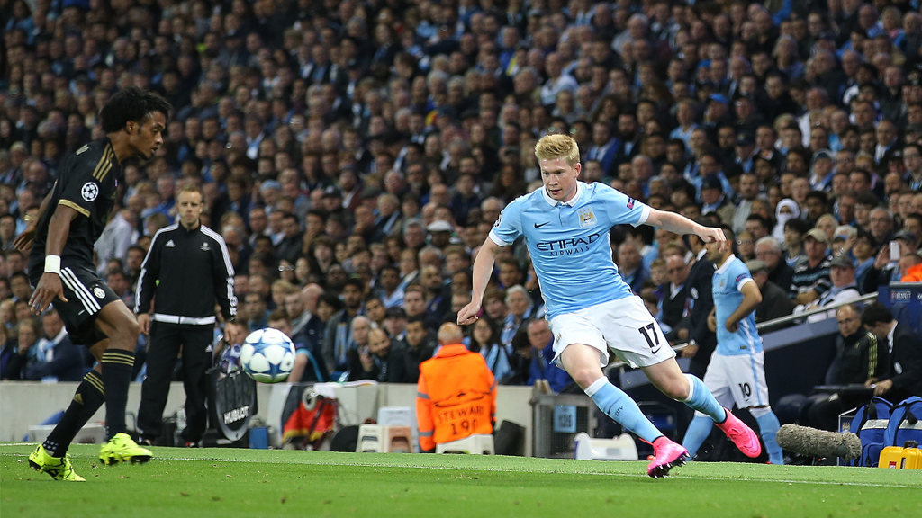 CHAMPIONS LEAGUE: KDB plays in the Champions League against Juventus