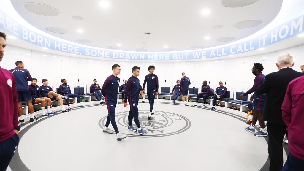 Players Get First Glimpse At New Facilities Manchester