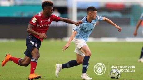 IN CONTROL: Foden in cruise control