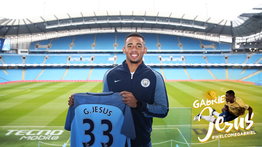 Gallery: Gabriel Jesus trains with Man City - Manchester City FC