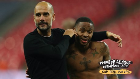 Guardiola delighted with his title-winning stars