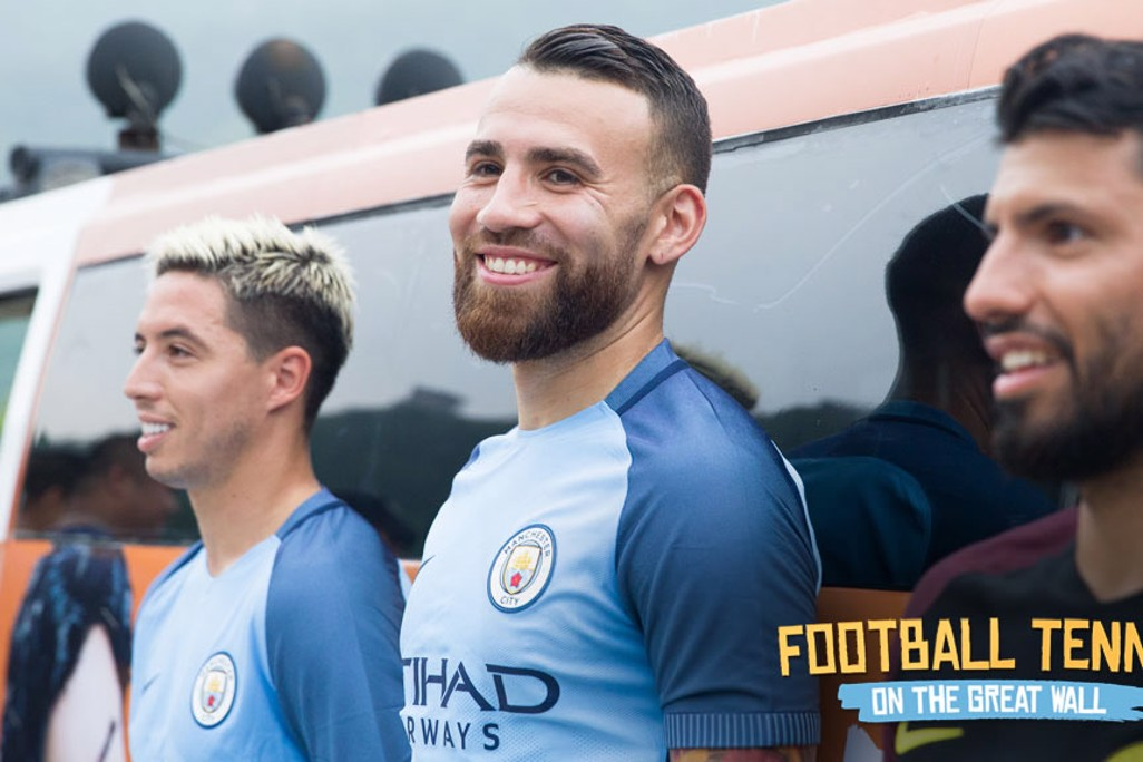 NICO AND CO: Nasri, Otamendi and Aguero