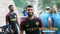 #cityontour: Making of The Great Wall Head Tennis video