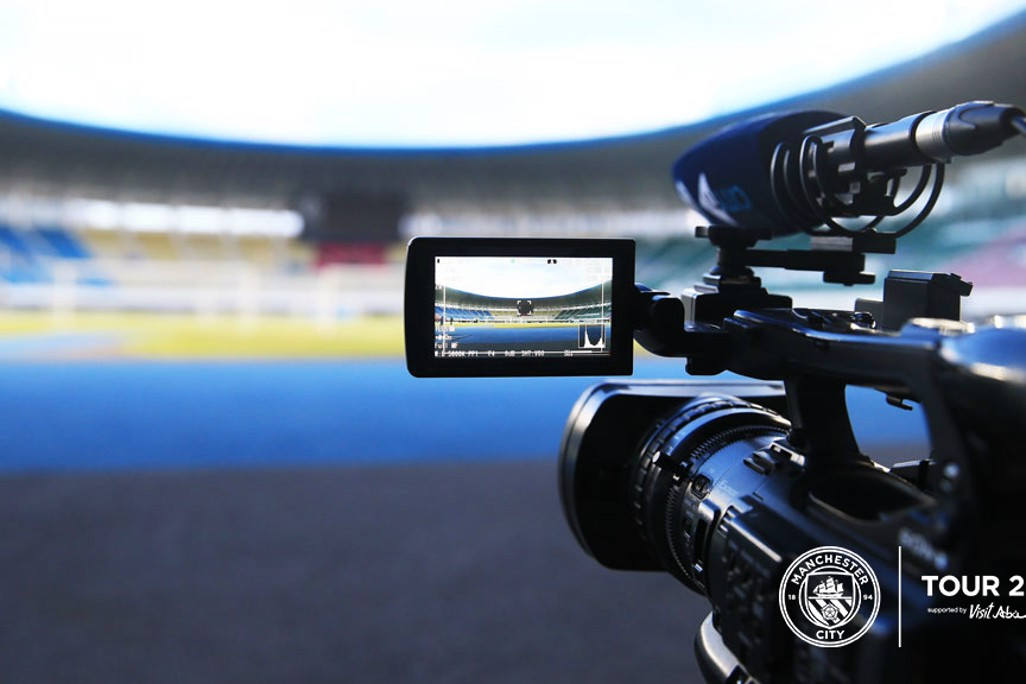 ACTION: The CityTV cameras ready and waiting.