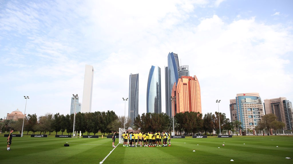 HIGH RISE: City in warm weather training