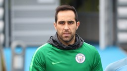 LOOK: Claudio Bravo looks straight down the lens.