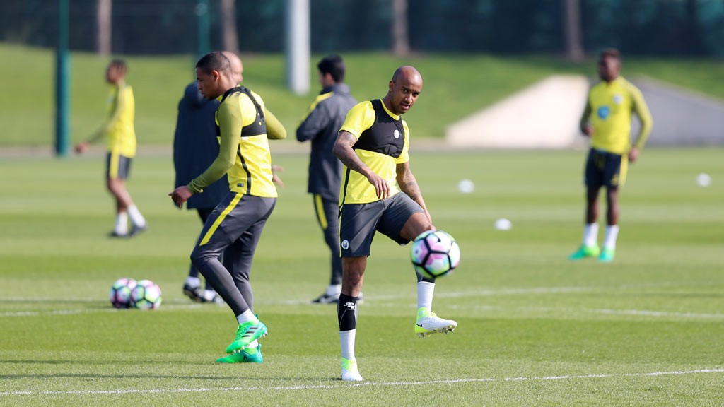 TOUCH: An incoming or outgoing pass from Fabian Delph, here?