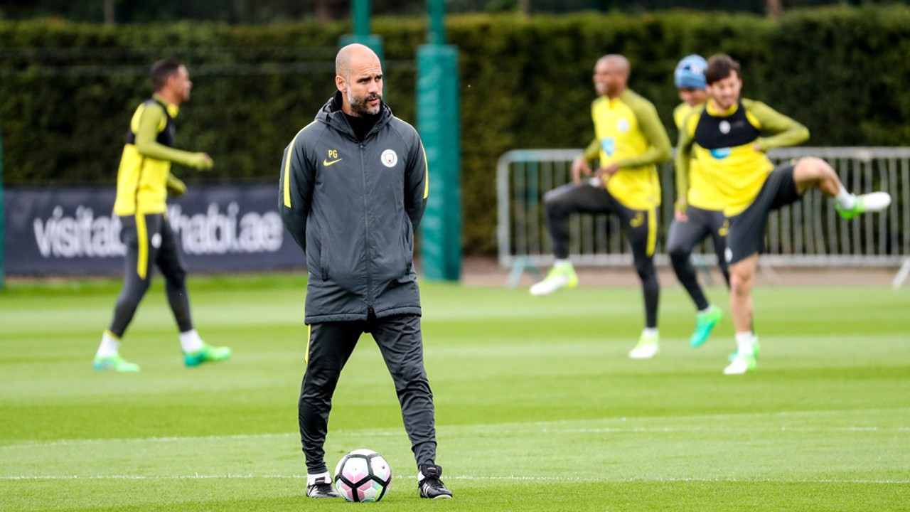 FULL FOCUS: Boss Pep Guardiola
