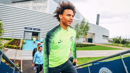 MAN OF THE MOMENT: Leroy Sane bagged a crucial second goal