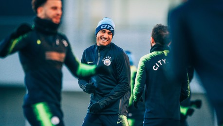 READY FOR THE CHALLENGE AHEAD: Danilo.