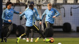 ON THE ATTACK: Kevin De Bruyne showcases his dribbling ability