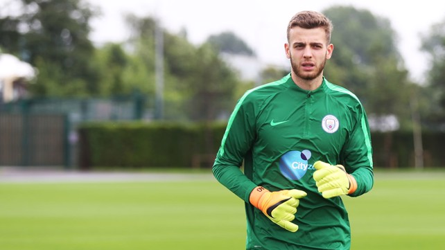 Image result for angus gunn city 2016/17