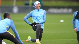 STRETCH: And smiles from Caballero