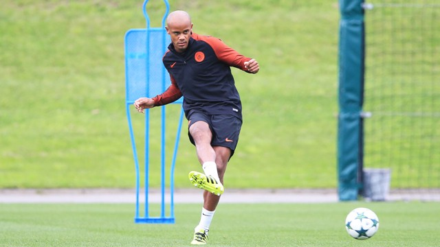 COMEBACK: The press believe Kompany is close to a return.
