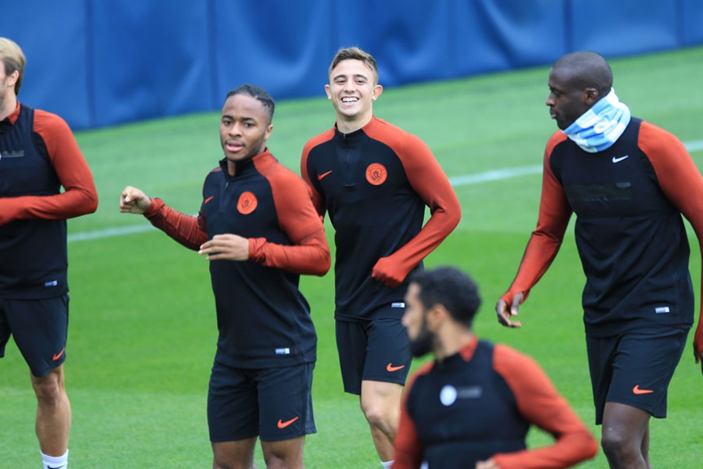 HIGH SPIRITS: Pablo Maffeo enjoys the run out