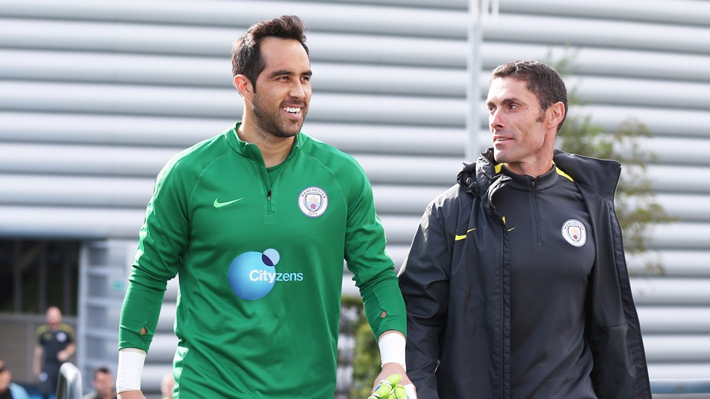 I CLAUDIO: Bravo heads out for training