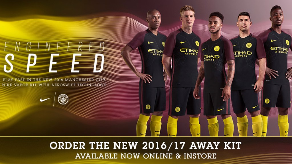 ON SALE: The 2016/17 away kit is now available to buy.