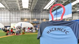 HACKED: The indoor pitch at the CFA took on a new role for HackMCFC