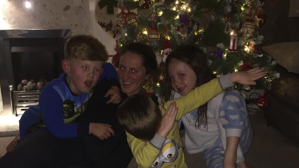 DAB: Abbie McManus uploads a pic of her family!