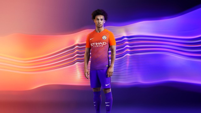 Manchester City Official Third Kit 2016/17
