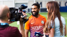 VERDICT: CityTV ask Gael's opinion on the new kit and it looks like he approves.