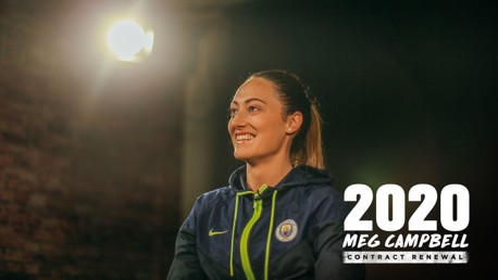 Megan Campbell: 2020 contract signing gallery
