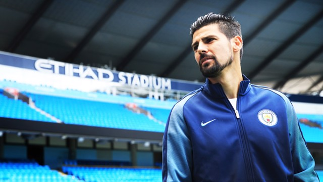 "Nolito: ""I think that Pep Guardiola is one of the best managers in the world. He knows a lot about the game and he's going to help me progress as a player and I'm sure he'll get the best out of me."""