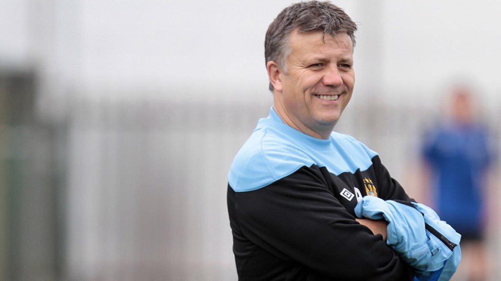 Mark Allen Happy with under18s win