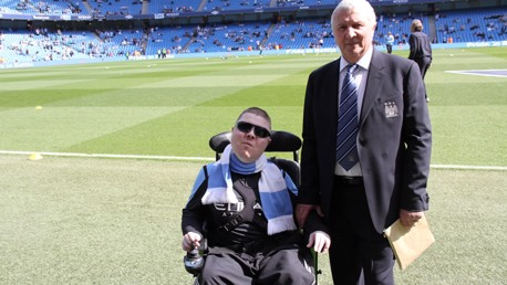 City salutes Carl - Mancunian of the Year