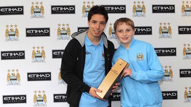 Player of the Month Samir