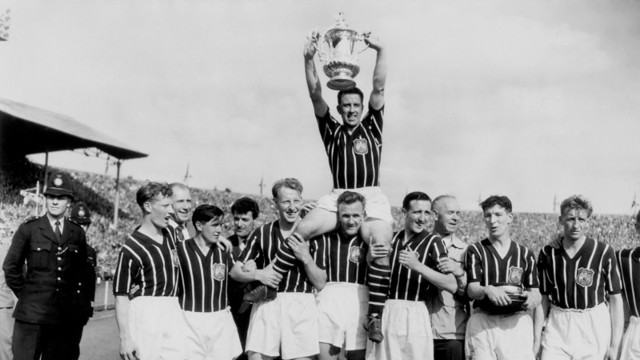 FA Cup trophy 1956