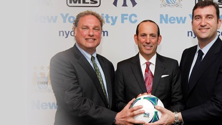 City and Yankees launch NYCFC